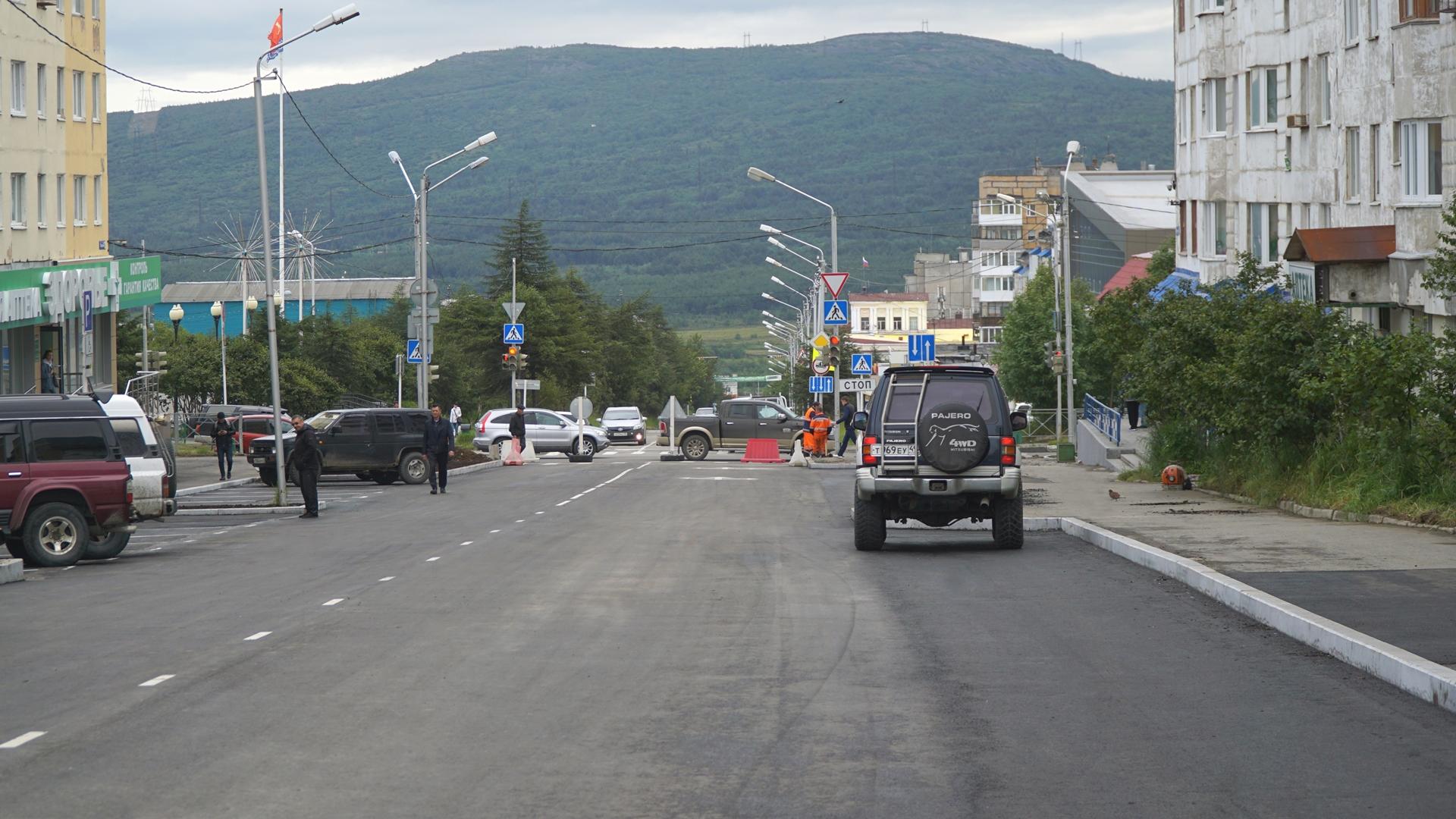 Первые объекты национального проекта «Безопасные и качественные автомобильные дороги» готовы к приемке в Магадане