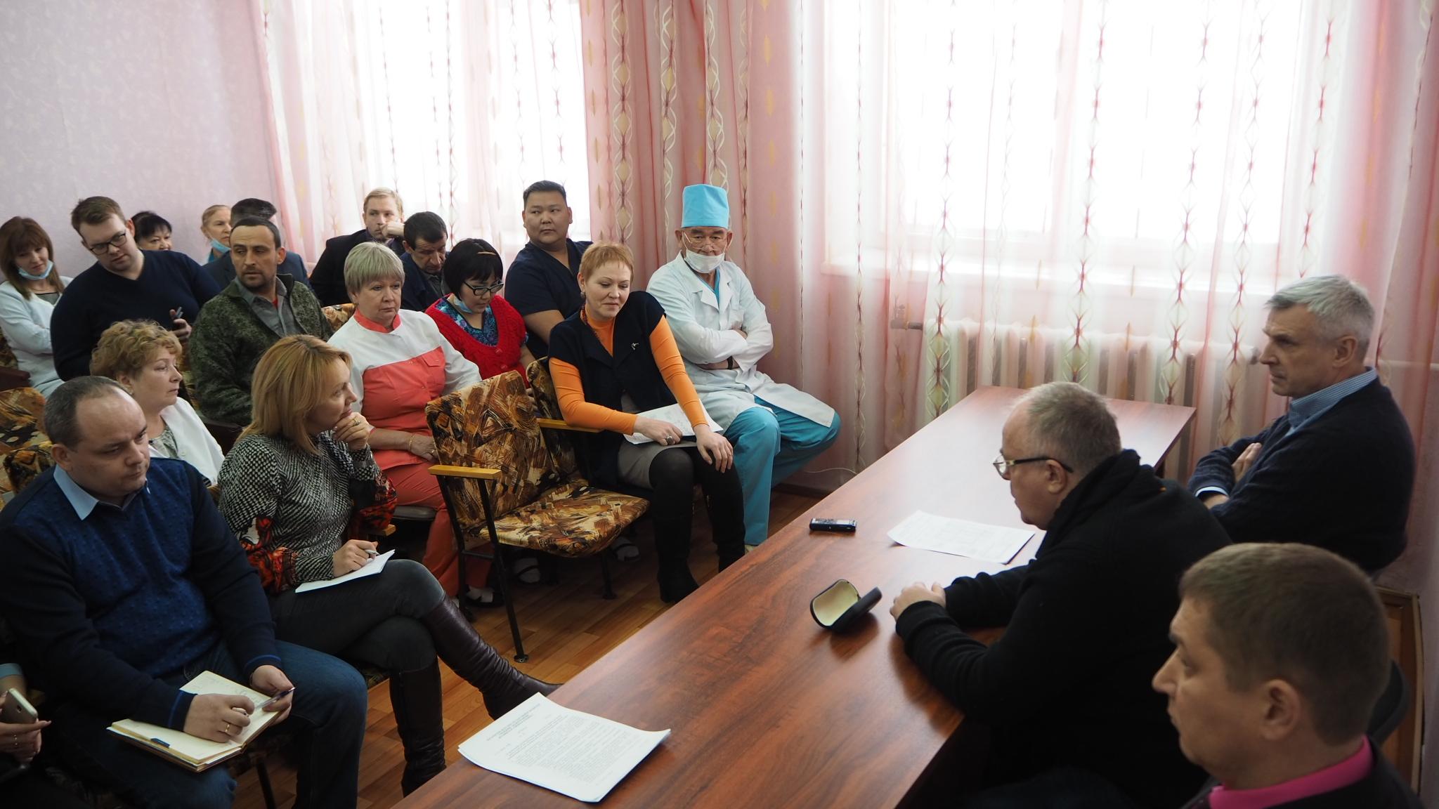 Сергей Носов: Медицинские учреждения Колымы нуждаются в особом внимании