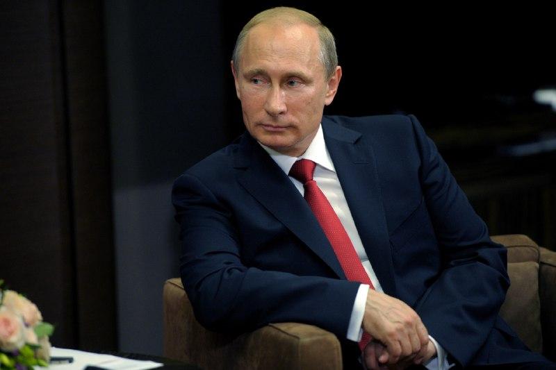 Президент Российской Федерации Владимир Путин поздравил жителей Магаданской области с юбилеем города