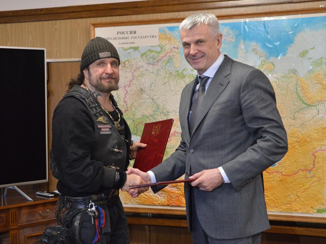 Молодежь Магаданской области сможет принять участие впроектах Русского байкерского сообщества вовремя отдыха вКрыму