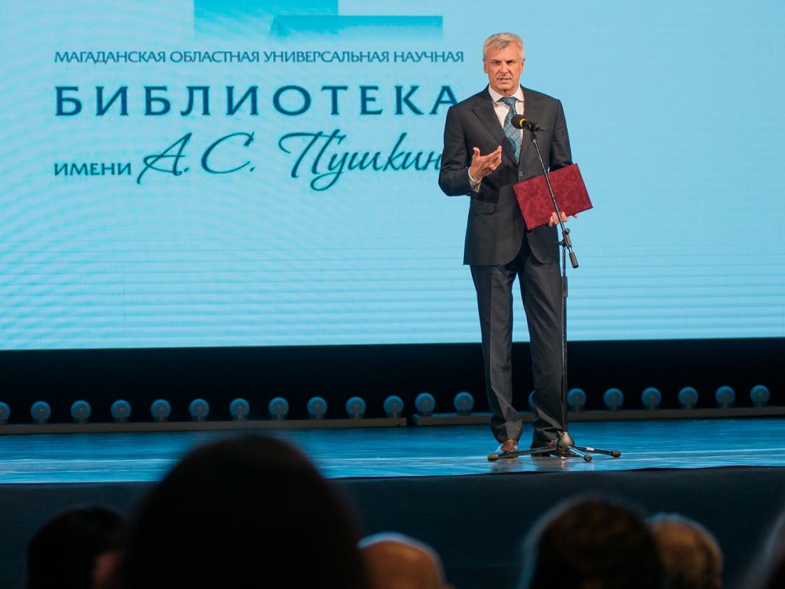 Сергей Носов: Наша библиотека— пример для подражания