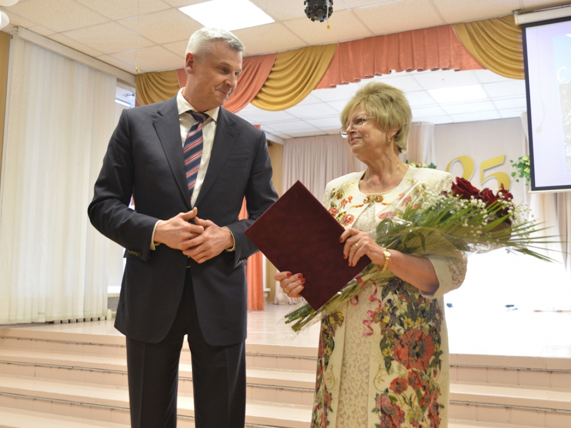 Губернатор поздравил гимназию «Английскую» сюбилеем