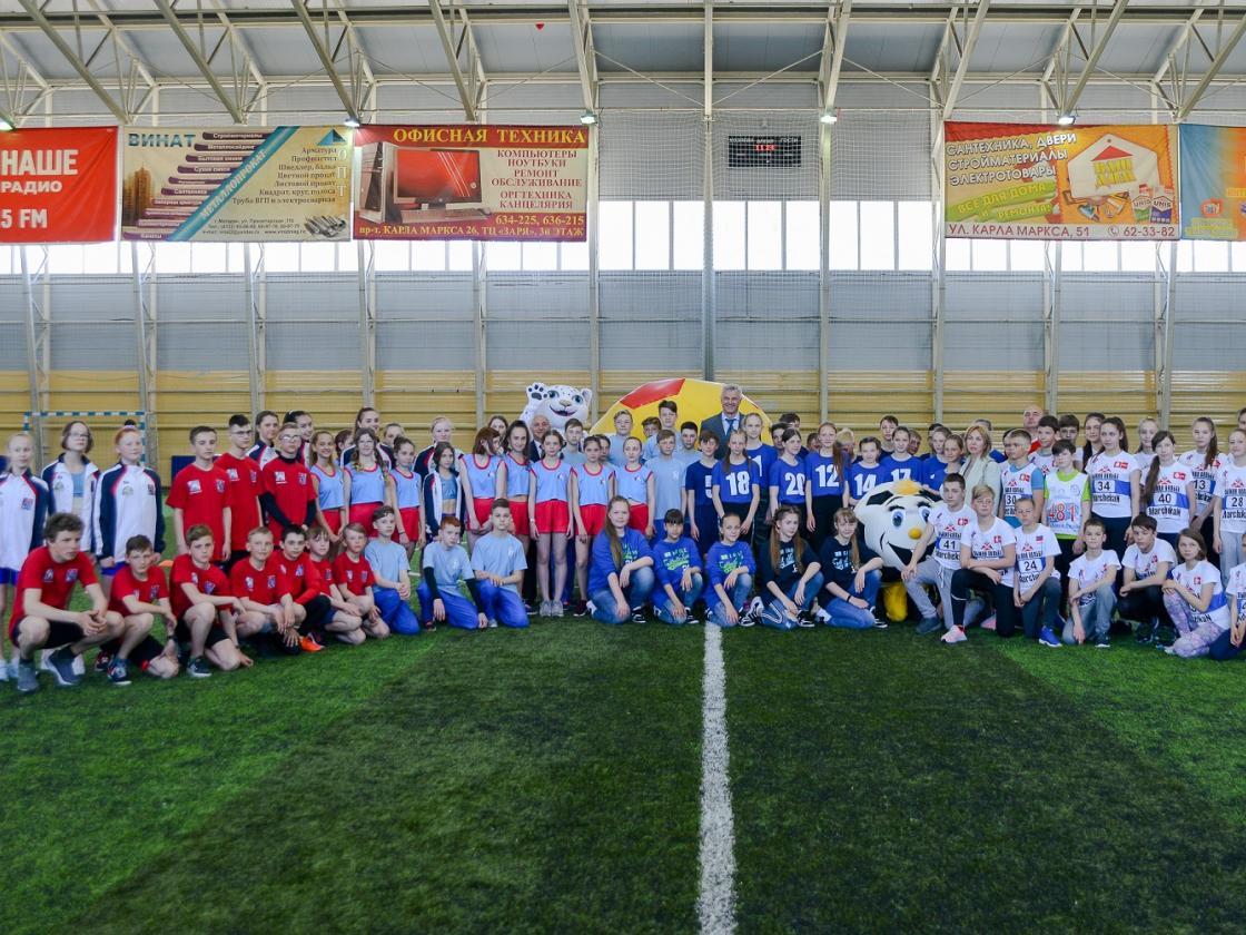 В Магаданской области открыли региональный этап Президентских спортивных игр