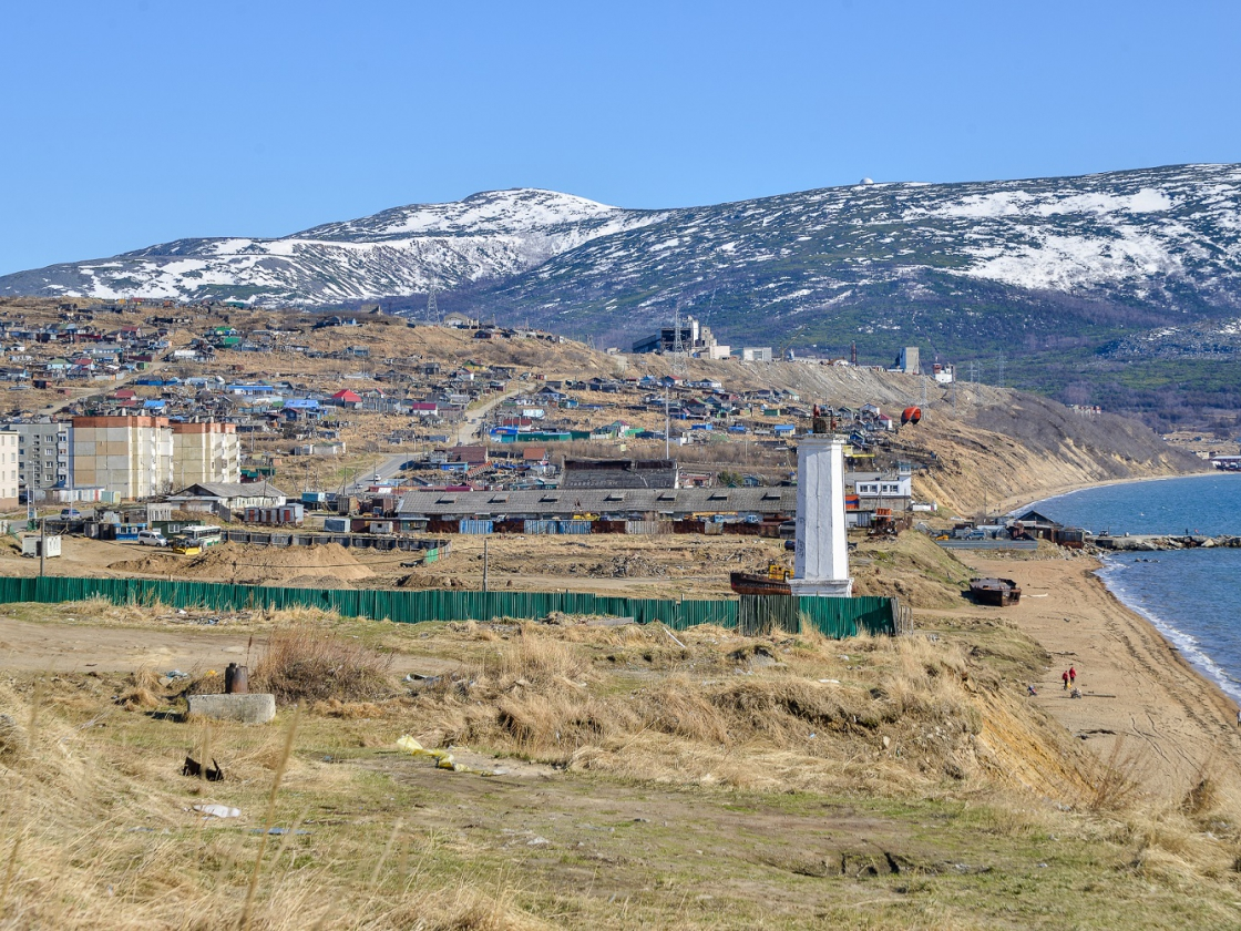 Сергей Носов проверил ход строительства парка «Маяк» иреконструкцию Портового шоссе
