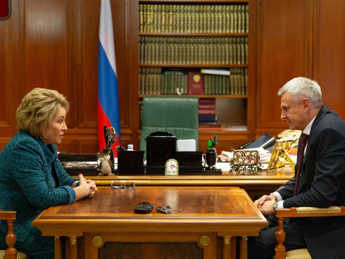 В Совете Федерации обсудили развитие Магаданской области