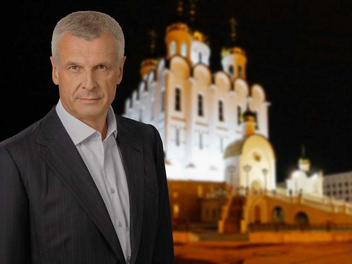Поздравление губернатора Магаданской области Сергея Носова спраздником Рождества Христова