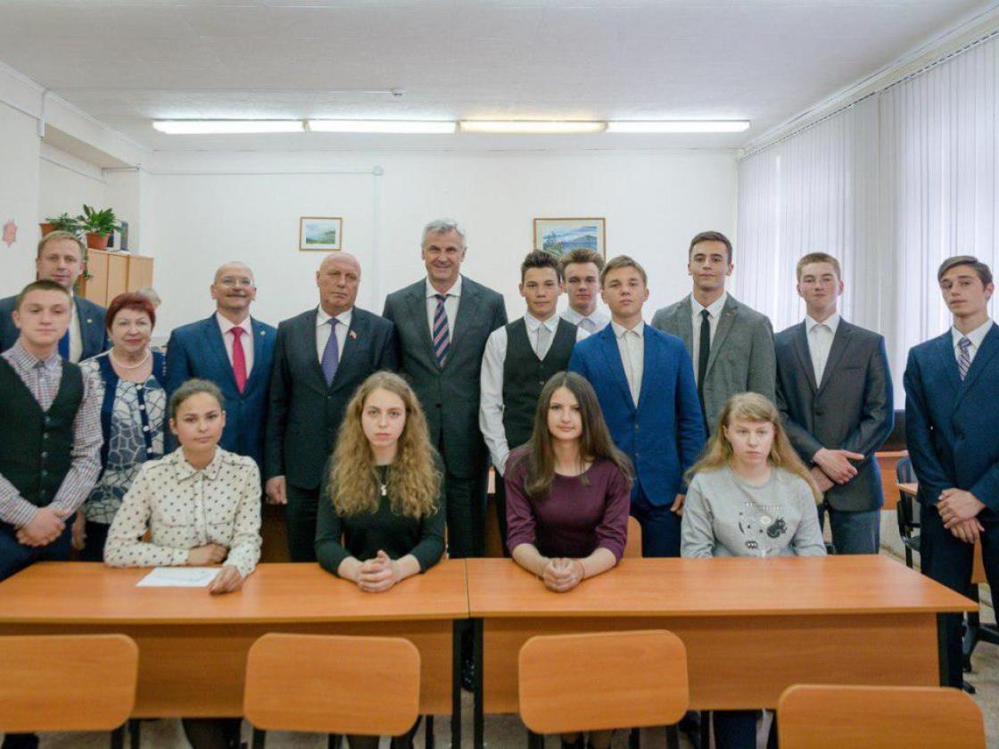 Второй интерактивный класс для подготовки старшеклассников кЕГЭ открыли вМагаданской области