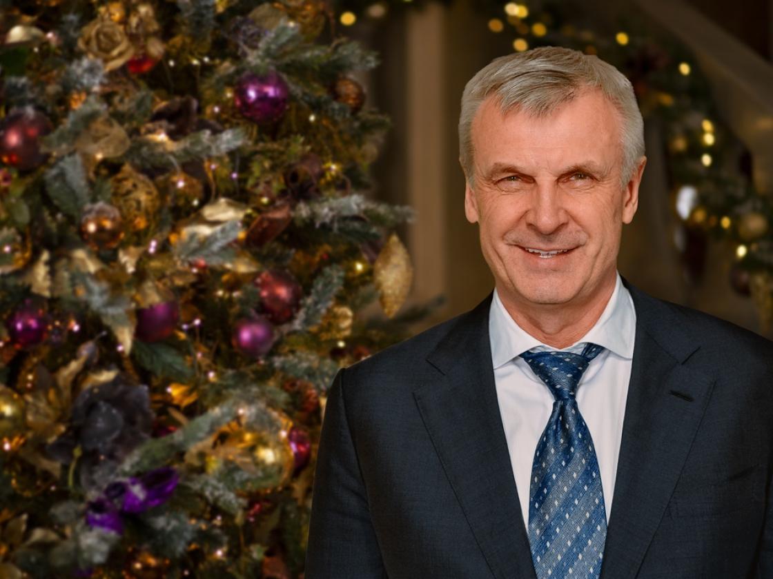 Новогоднее поздравление губернатора Магаданской области Сергея Носова