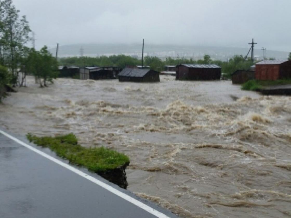 В Магаданской области продолжается работа по ликвидации последствий паводков