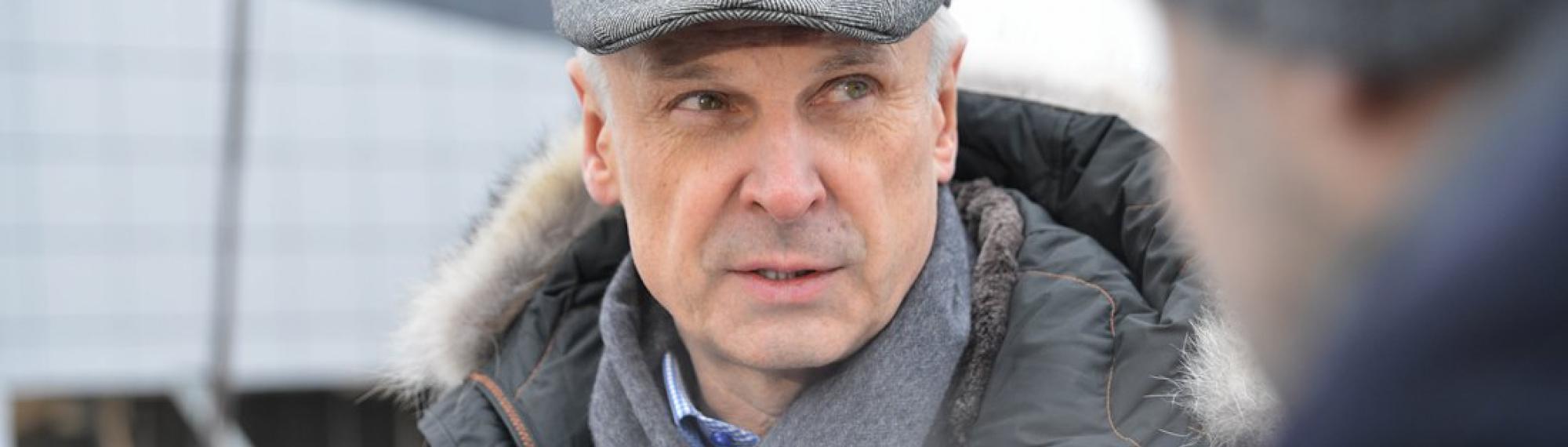 Сергей Носов: Бассейн вПалатке вместе сблагоустройством должен быть закончен досередины июня